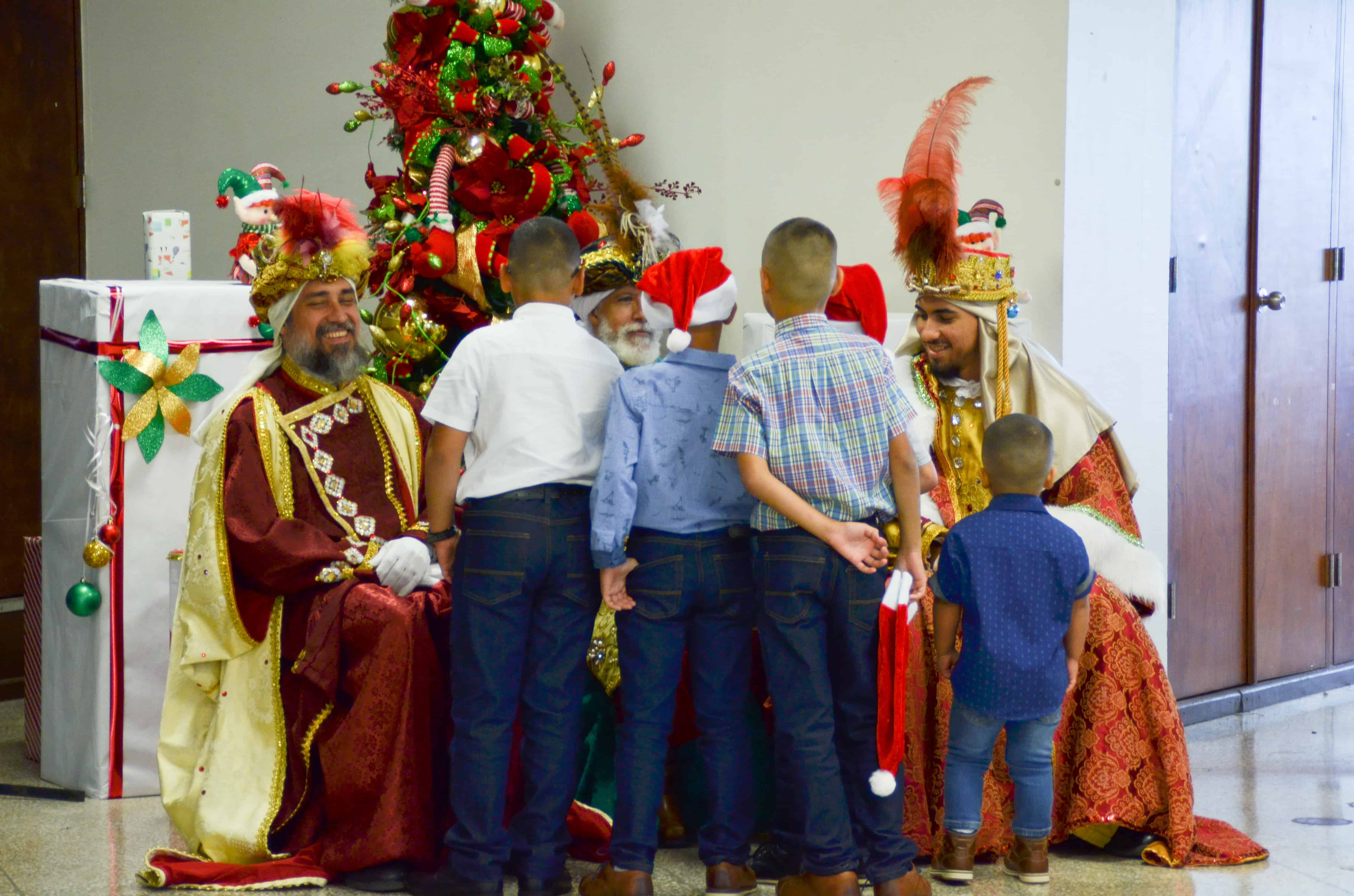 The Three Kings Bring Joy to Our Children